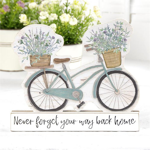 Never forget your way back home Bicycle