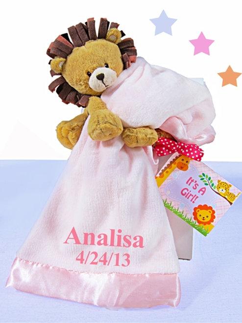 Little Lion Boy or Girl Gift Box