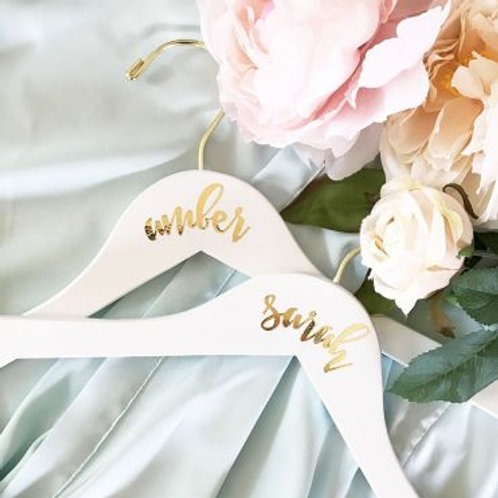 Bridal Party Hangers Personalized