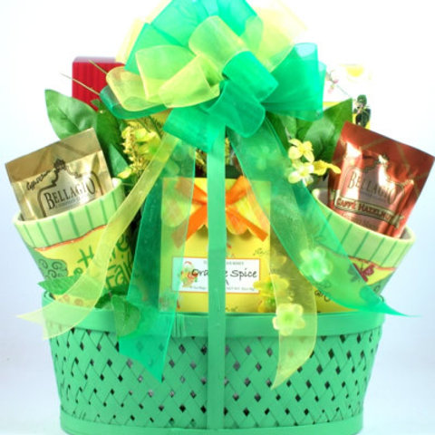 Serenity Prayer Gift Basket filled with Christian Blessings