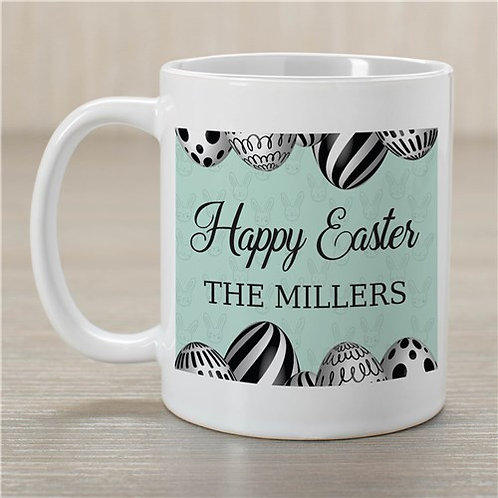 Happy Easter Eggs Personalized Mug