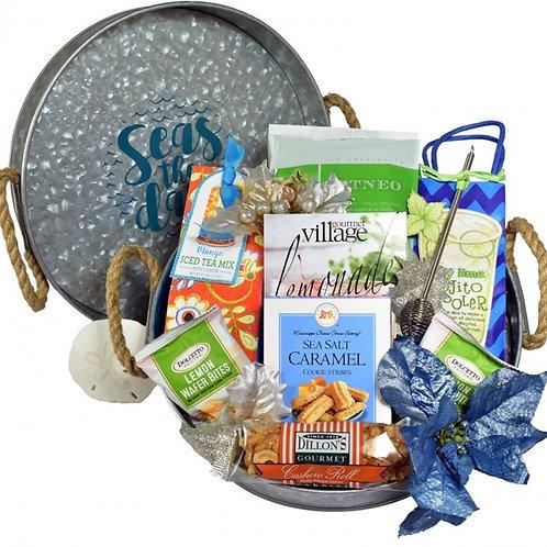 Nautical Day at Sea Gourmet Gift Basket