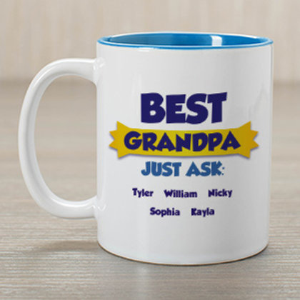 Best Grandpa Coffee Mug