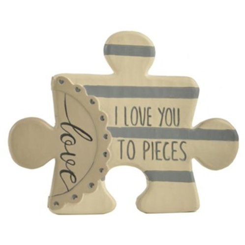 I Love you to Pieces Puzzle Piece