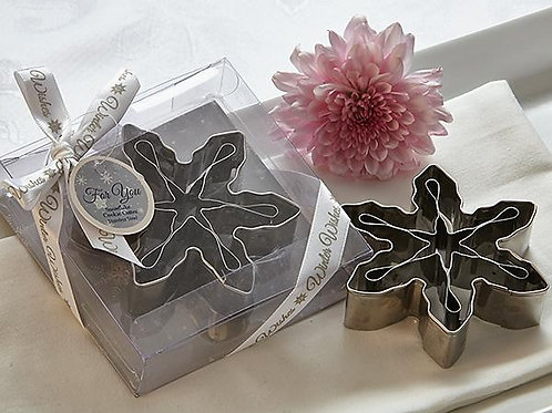 Winter Wishes 3D Snowflake Cookie Cutter Favor