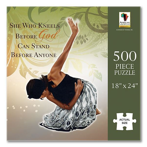 She Who Kneels 500 PC Jigsaw Puzzle