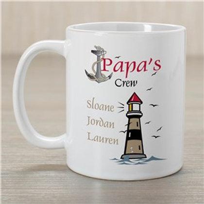 Crew Personalized Coffee Mug