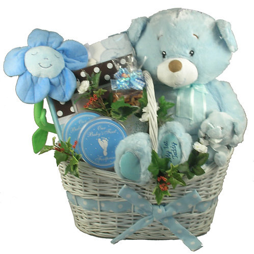 It's a Boy or Girl Deluxe Baby Gift Basket