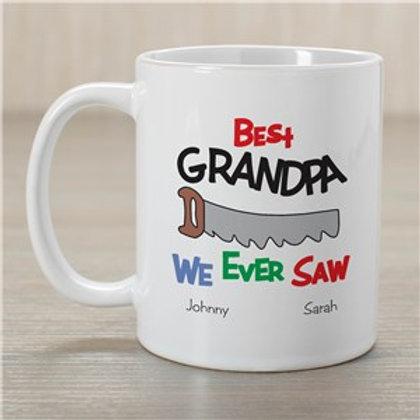 Best We Ever Saw Personalized Coffee Mug