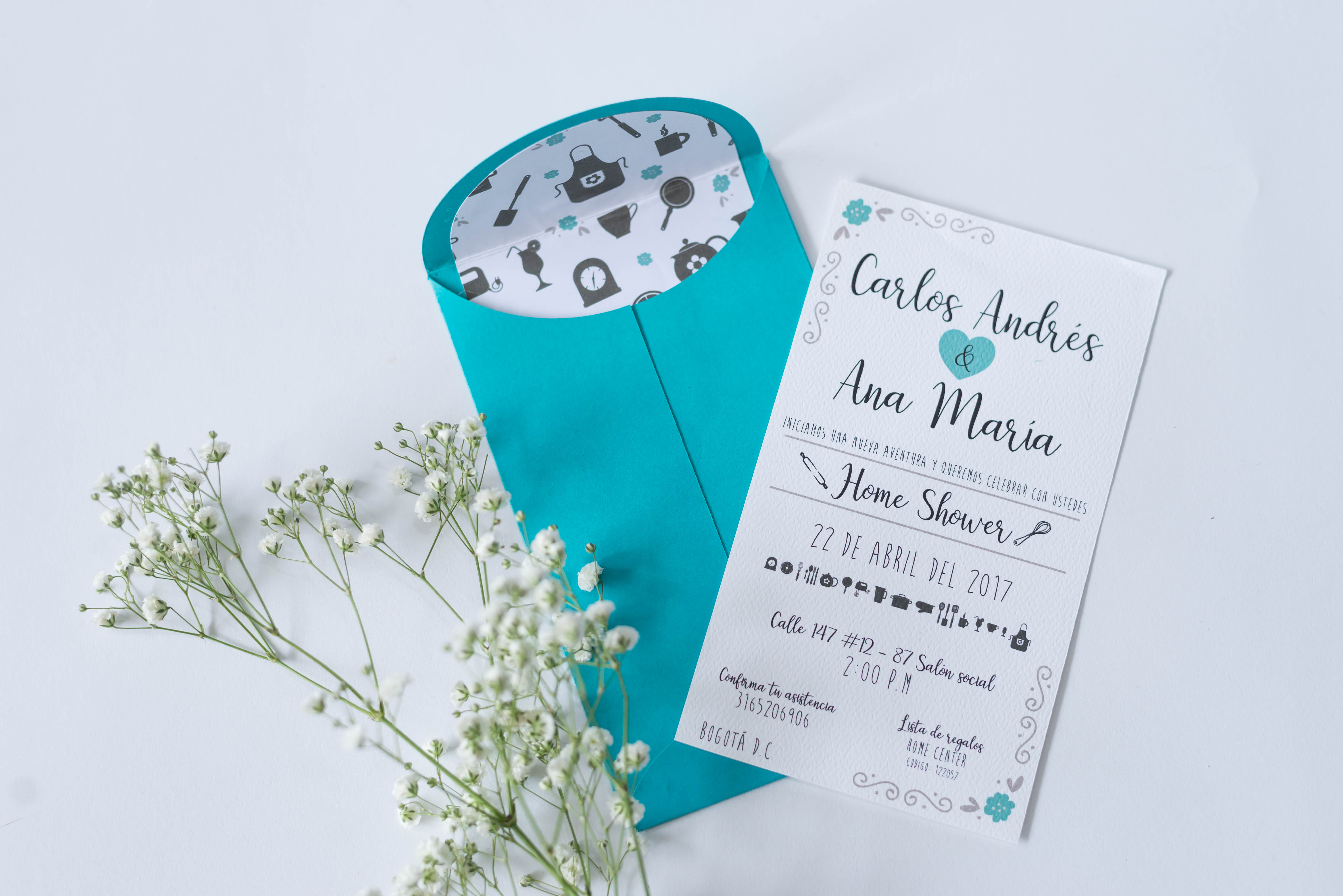 invitacion shower