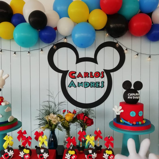 Micky mouse decoracion