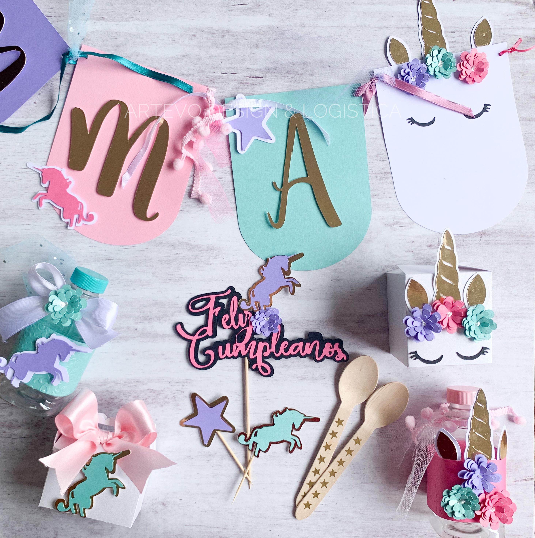 Decoracion unicornio
