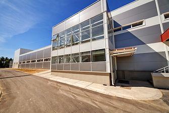 Fassadenarbeiten Industrie Haus Zürich Kloten Aargau Schweiz
