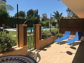 Self Catering Beachside Apartment close to Puerto Banus,  Marbella Spain
