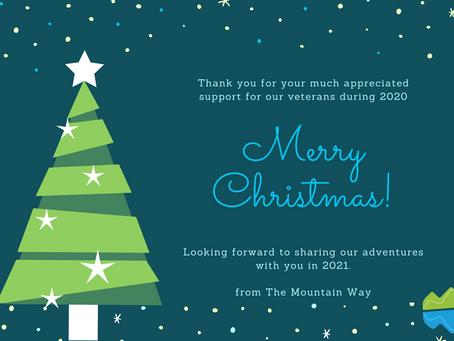 A big festive thank you