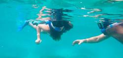 Panama snorkelling