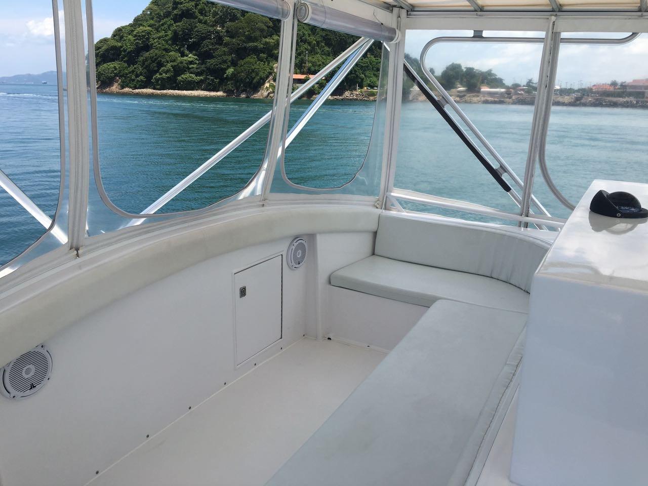 58ft bertram boat rental in panama