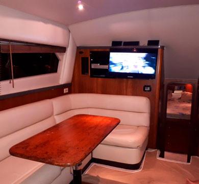 38ft luhrs interior boat rental in panama