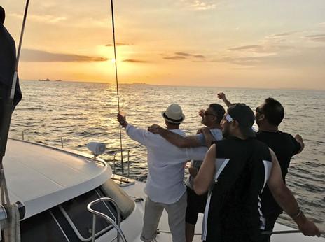 bachelor yacht