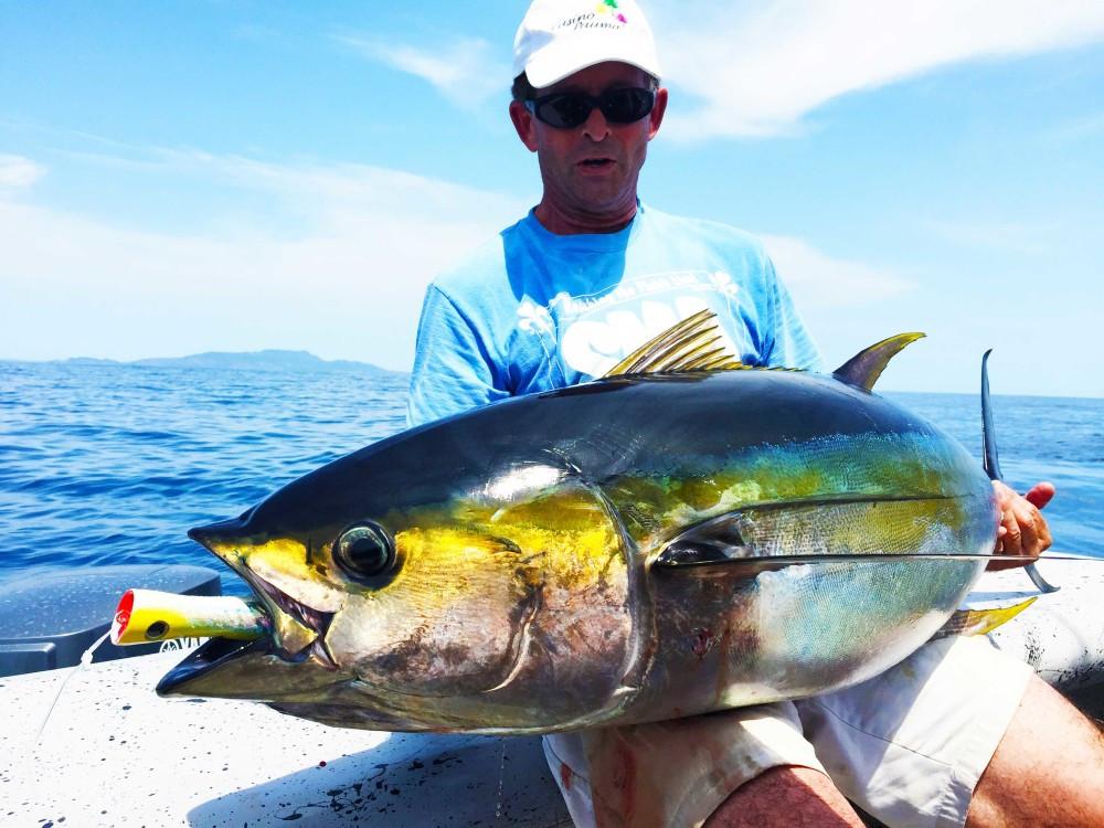 yellowfin tuna fishing in panama