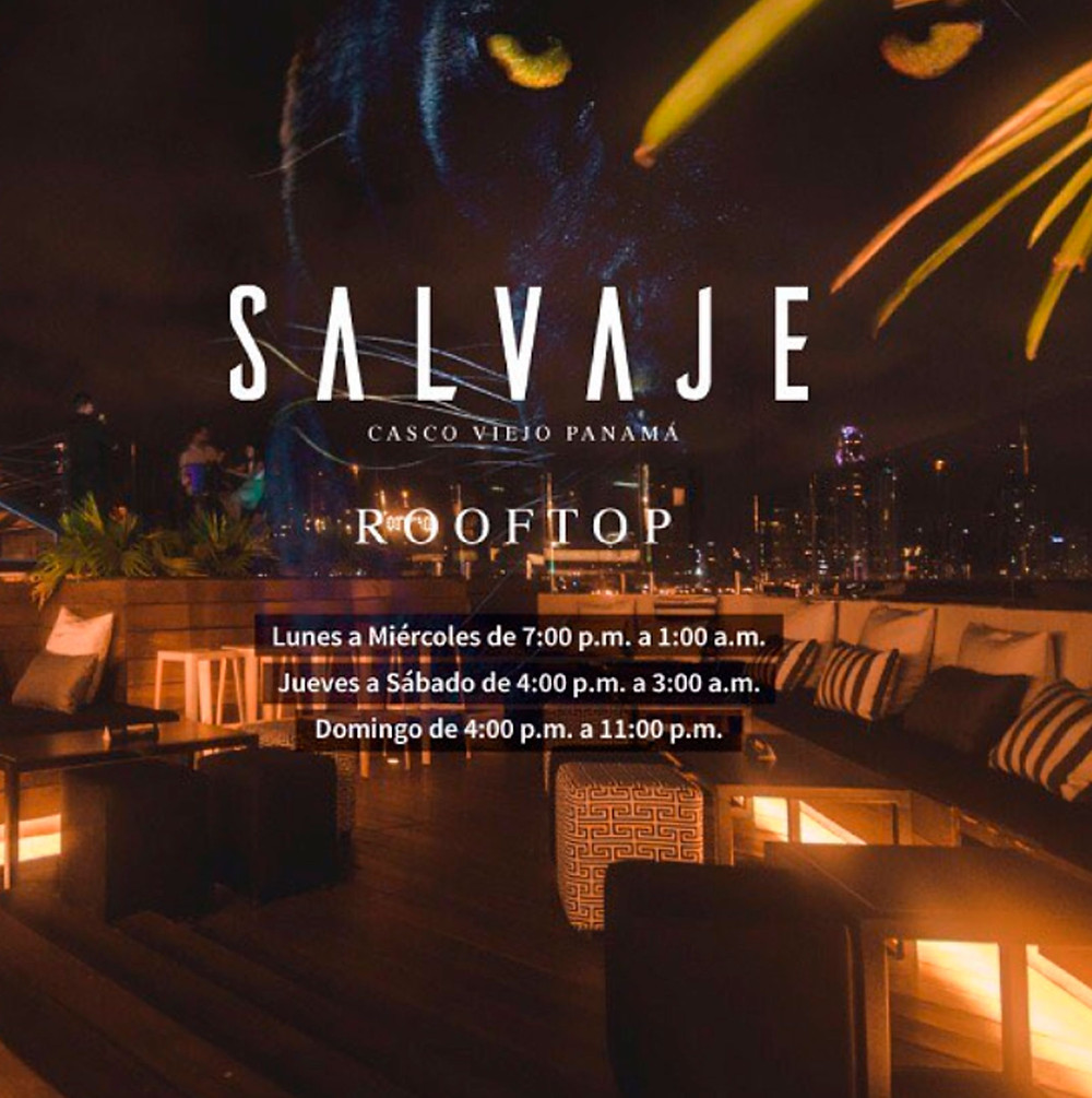 Salvaje rooftop bar