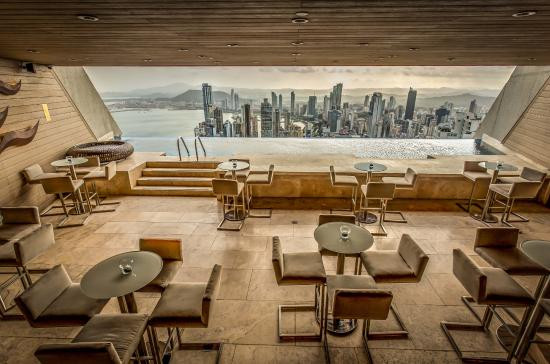 Highest Pool Bar in Latin America