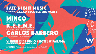 Upcoming electronic event in Panama june 15