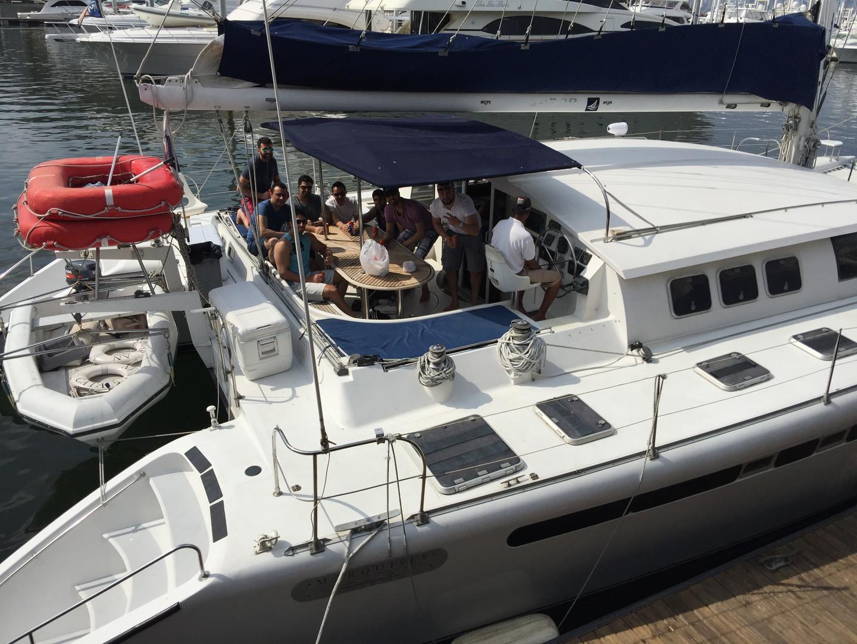 57ft fountaine pajot catamaran rental in panama