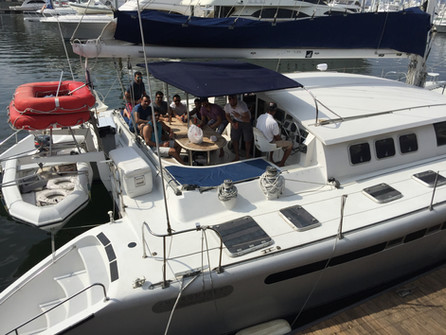 Alquiler de catamarán fountaine pajot de 57 pies en panamá