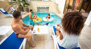 Royal Mansion Pool Party
