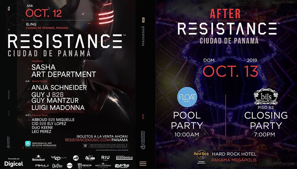 Resistance Party in Panama