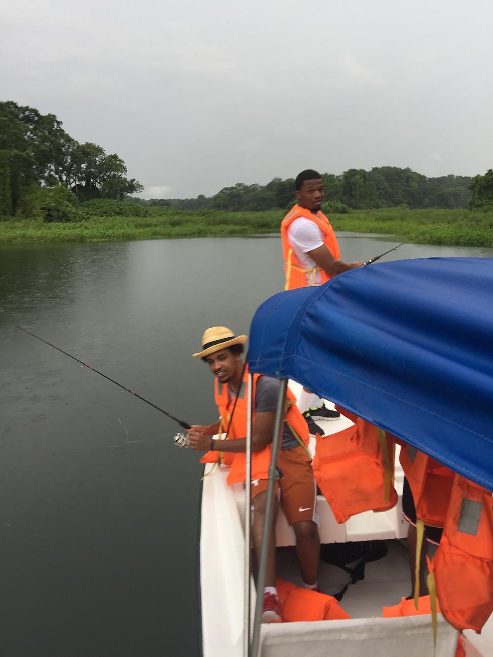 Sargento Bass Fishing in Panama