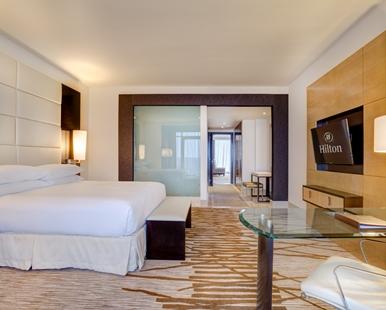 Hilton master suite