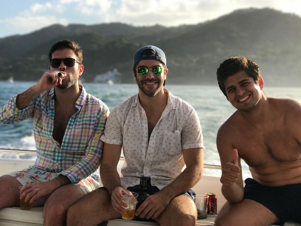 yacht party experience in panama