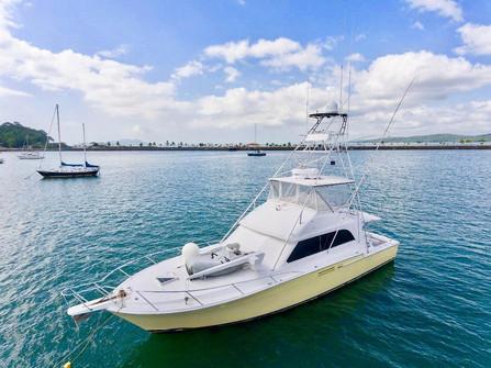 58ft bertram for deep sea fishing in panama
