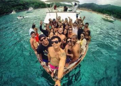 yacht party in panama