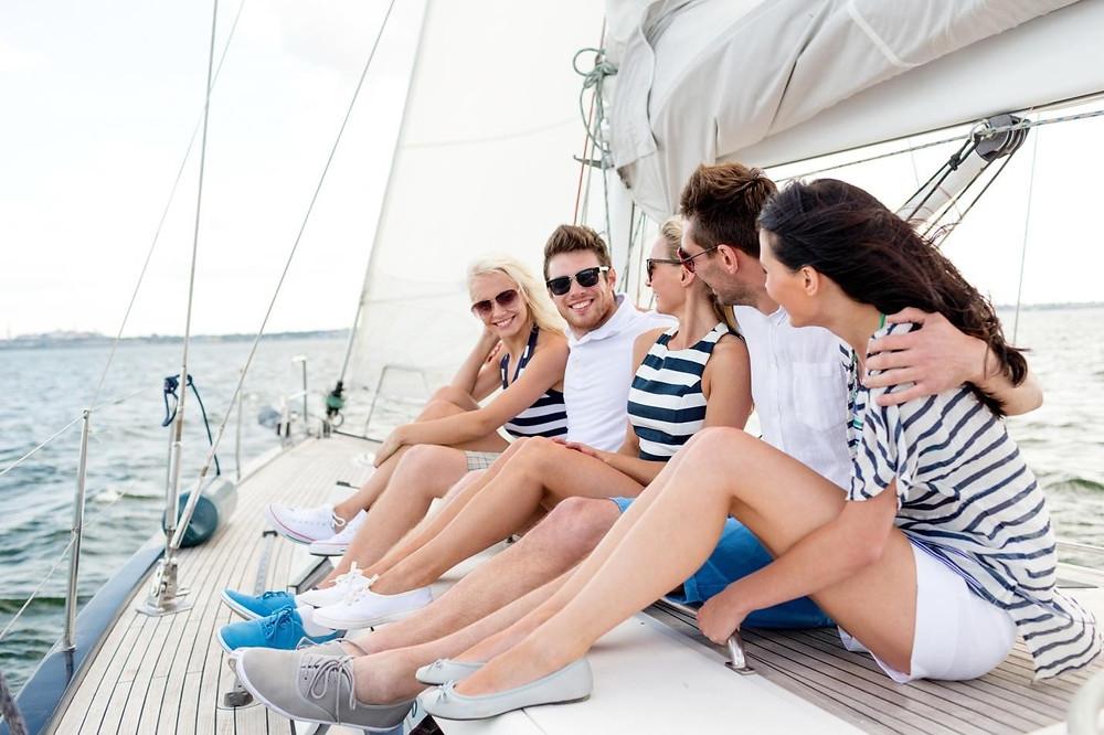group sailing trip