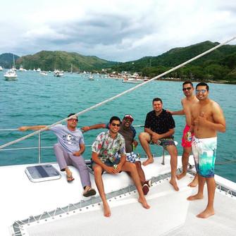 Alquiler de catamarán fountaine pajot de 57 pies en panamá en taboga