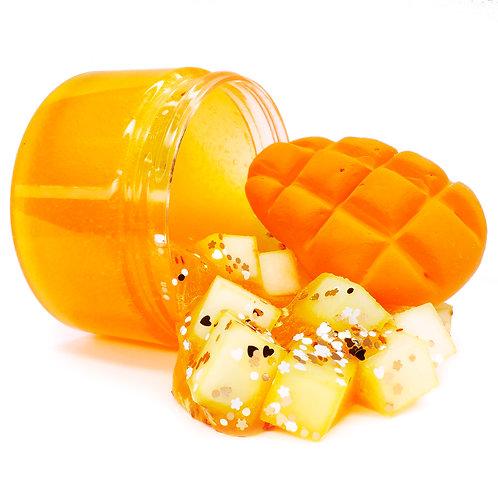 Mango Jelly Cubes