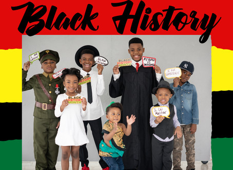 Black History Month 2020 with a few Amazing Black Children +  LJK