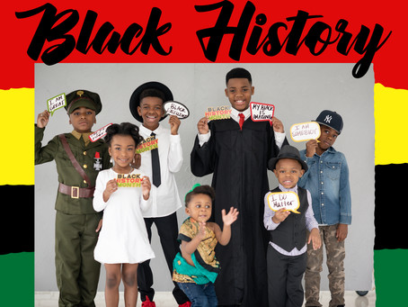 Black History Month 2020 with a few Amazing Black Children +  LJK