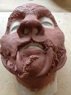 Prosthetic Head: Sculpture (Detail)