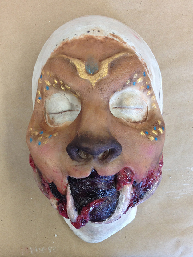 Prosthetic Head: Painted