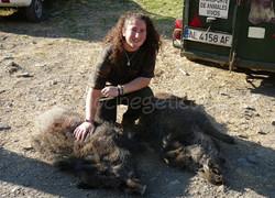 De caza con Rocío Brocal
