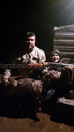 Conrado y su hijo en Tucumán