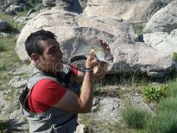 De pesca con Ángel Sánchez