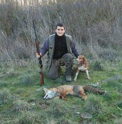Rubén Suberviola con su perro