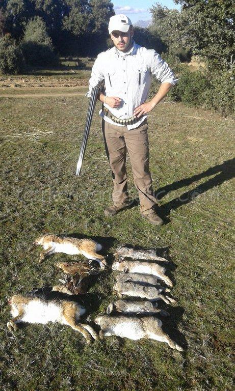 De caza con Dani Romero