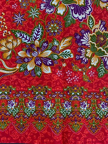 Sarongs-Red/Oranges