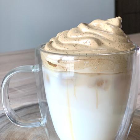 My version of the Dalgona Coffee craze